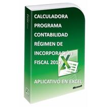 Programa Contabilidad Régimen De Incorporación Fiscal 2017