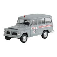 Veículo De Serviço Willys Rural Radio Patrulha Com Fasciculo
