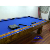 Mesa De Billar Convertible Pool Y Carambola Mdf