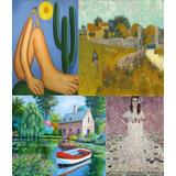 Poster Grande Obras Hd De Pintores Famosos Decoração Arte