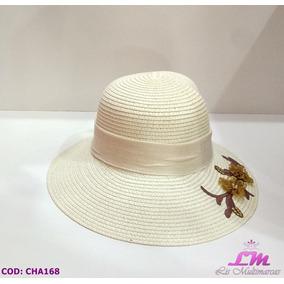 Chapeu De Palha Com Flores - Chapéus Palha no Mercado Livre Brasil 3e70cd88279
