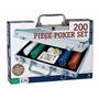 Set De Poker 200 Fichas Maletin Aluminio Texas Holdem Casino