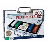 Set De Poker 200 Fichas Maletin Texas Holdem Casino Conenvio