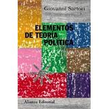 Sartori - Elementos De Teoría Política (digital)