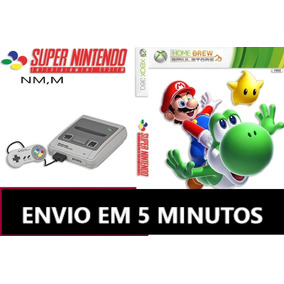 Emulador Super Nintendo Para Xbox 360 +1000 Jogos + Brides