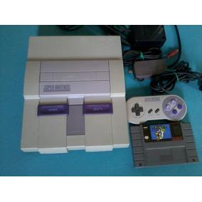 Super Nintendo + Super Mario World (original)