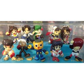 King Of Fighter - Set 10 Figuras 4cm Iori Kyo Mai Sakura Kof