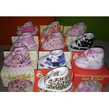 Zapatillas Con Cordeito No Caminantes Bebes Recién Nacidos