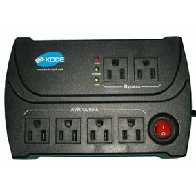 Poderosos Regulador De Voltaje Kode K-avr1006 1200watts Pc