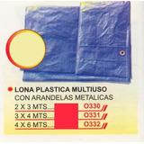Lona Plástica Multiuso 2x3mts Power O330