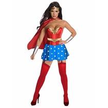 Disfraz Mujer Maravilla Rubies Adulto Fiesta Super Heroe