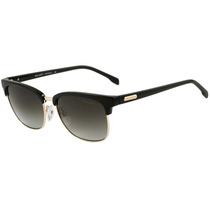 Bulget Bg 3168 - Óculos De Sol A01 Preto E Dourado/ Preto