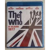 Bluray The Who At Kilburn 1977 Roger Daltrey Pete Townshend