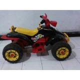 Moto Peg Perego 4 Ruedas De Bateria