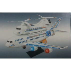 Brinquedo Avião Air Bus Big Mac Com Som E Luzes Importado