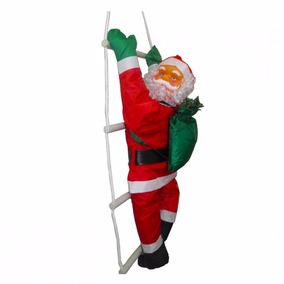 Papai Noel Escada Natal Escalador Enfeite Natalino Decoracao