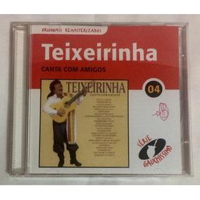 Cd Teixeirinha Canta Com Amigos (jbn)