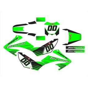 Kit Adesivo Moto Cross Trilha Honda Tornado 2006 Mt001