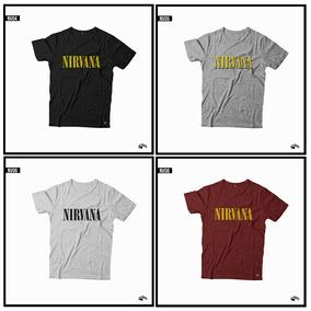 Nirvarna Remera Premium 24/1 Costuras Reforzadas