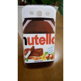 Capa Capinha Samsung Galaxy S3 Silicone Nutella Chocolate