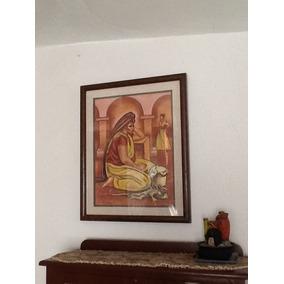 Cuadro De Indígena Oaxaqueña Del Pintor Anguiano