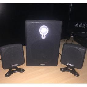 Equipo De Sonido Edifier Con Buffer Y 2 Parlantes