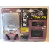 Walkman Sony Discman D-e206ck Accesorios Carro Nuevo Sellado