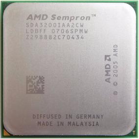 Processador Amd Sempron 64 3200+ Sda3200iaa2cw Am2 Perfeito