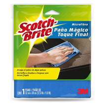 3m Scotch Brite Paño Mágico De Microfibra 1 Pack