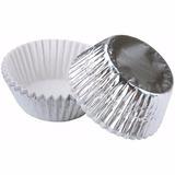 Pirotines Cupcakes Wilton - Metalizados - Silver