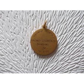 Medalla Bowling Racing- San Lorenzo 1961 Diametro 27mm