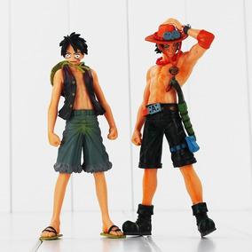 One Piece Kit C/ 2 Action Figures Pronto Para Envio