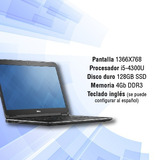 Notebook Dell Latitude E7440 I5-4300u 128gb 4gb Outlet