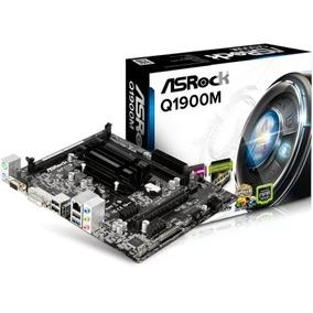 Combo Tarjeta Madre Procesador Quad Core Asrock Q1900m