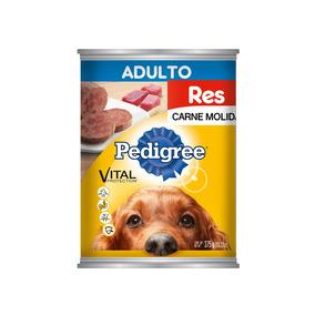 Pedigree Con Carne Molida De Res Alimento Perro Adulto 375gr