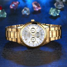 Relógio Masculino Chenxi 018a Elegante Social Unisex