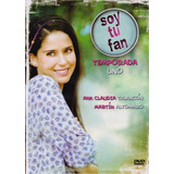 Soy Tu Fan Temporada 1 Uno Primera Ana Claudia Talancon Dvd
