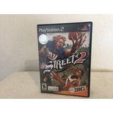 Nfl Street 2 Para Playstation 2 Completo Con Manual