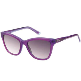Lentes Guess Matte Crystal Purple Cat-eye Sunglasses