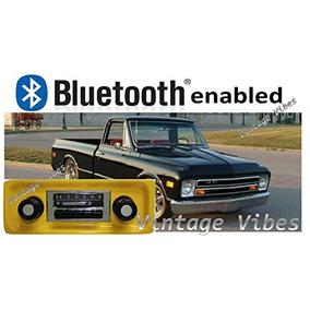 Bluetooth Enabled 67-72 Gmc Pickup Truck 300w Slidebar Am Fm