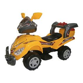 Juguete Moto A Bateria Amarilla