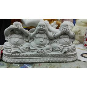 Figura De Yeso Buda Alegre