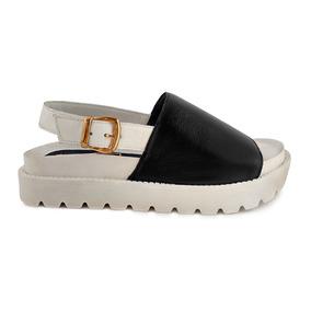 Envio Gratis Sandalia Cuero Zapato Mujer Moda Verano 2018