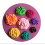 3 Kit Molde De Silicone Flores Excluvisos Para Decorar Bolos