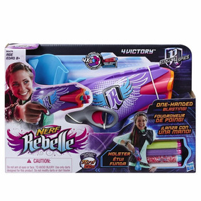 Pistola 4 Dardos Nerf Rebelle Victory Secrets & Spies Hasbro