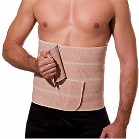 Faixa Abdominal Velcro Cirurgia Correção Postural 4 Gomos