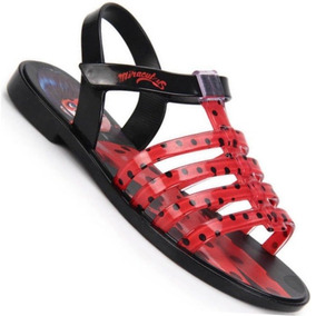 Sandália Infant Calçados Miraculos Ladybug Grendene Promoção