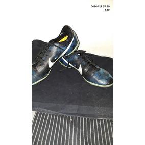 Zapatos De Futbol Sala Nike Mercurial Talla 38.5. Usados
