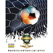 Álbum Brasileirão 2013 - Completo - Colado - Impecavel