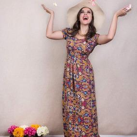 Vestido Longo Moda Evangélica